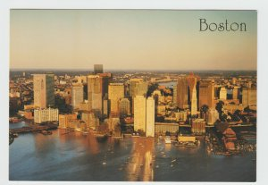 Boston Massachusetts USA Early Morning Postcard