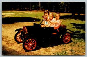 Sugar Creek Missouri~Crue-Cut Mfg Co~Miniature Car~Tin Lizzie~Gas Engine~1950s