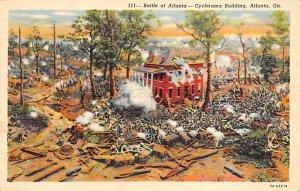 Civil War Post Cards Battle of Atlanta – cyclorama building Atlanta, G...