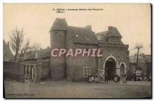 Old Postcard Douai Old Templiershouse (animated)