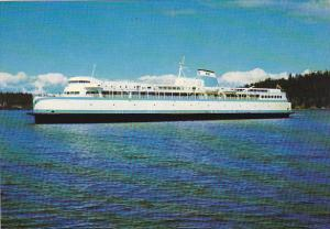Canada Ferry M V Queen Of Burnaby British Columbia