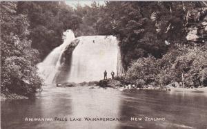 LAKE WAIKAREMOANA, New Zealand, 1900-1910´s; Aniwaniwa Falls