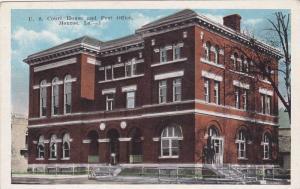U. S. Court House and Post Office, Monroe, Louisiana, 10-20s