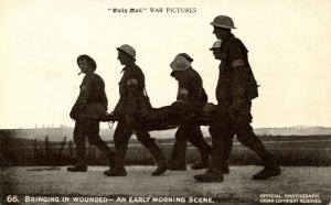 British Soldiers (Tommy) - Bringing In Wounded (Military)