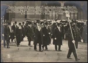 Germany 1913 Oversize RPPC Celebration 1813 Liberation Napoleon Berlin 75715