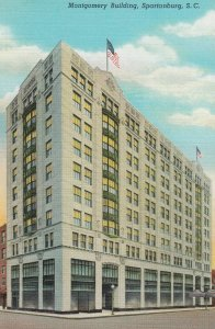 SPARTANBURG , South Carolina , 1930-40s ; Montgomery Building #2