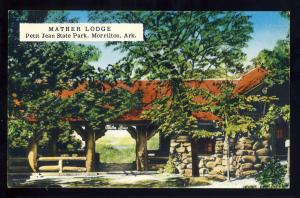 Morrilton, Arkansas/AR Postcard, Mather Lodge, Petit Jean State Park