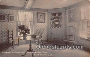 Quincy, Mass, USA Living Room, John & Abigail Adams Cottage