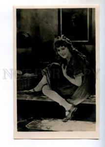 243507 Mary PICKFORD MOVIE Oscar ACTRESS Cinderella Old PHOTO