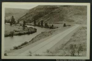 Enchantment Drive Yakima-Ellensburg Hwy, WA  RPPC 1930s