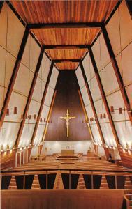 Interior View, Sacred Heart Catholic Church, Prince George, British Columbia,...