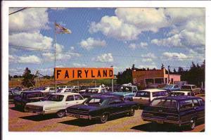 Fairyland, Cape Borden, Charlottetown, Prince Edward Island, 50's Cars