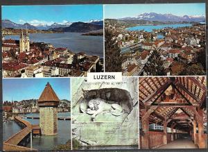 Switzerland, Luzern, multiview, unused