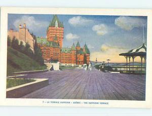 Unused Pre-1980 TOWN VIEW SCENE Quebec City QC p8752