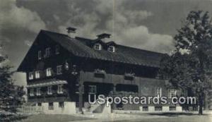 Waelderhaus, Girl Scout House