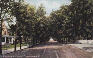 CHAMBERSBURG , Pennsylvania, 1900-10s ; Philadelphia Avenue