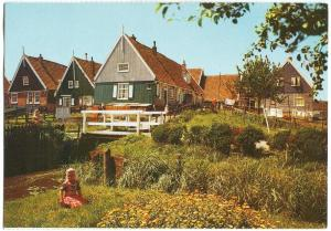 Holland, Netherlands, Marken, unused Postcard