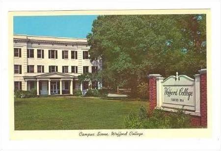 Campus Scene, Wofford College, Spartanburg, SC, 40-60s