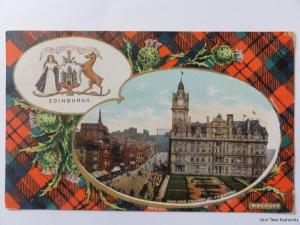 c1907 - East End Priness St - Edinburgh - 'NISI DOMINUS FRUSTRA'