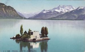 Switzerland Clarens L'Ile des Mouettes