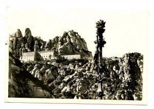 Spain - Montserrat.    *RPPC