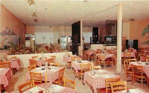 FT LAUDERDALE FLORIDA 1950s Louie's Spaghetti House Orlando Interior 3086