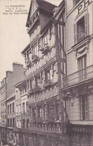 Rue Du Pont-Mortal, Lisieux (Calvados), France, 1900-1910s