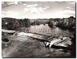 Modern Postcard Brioude Haute Loire Dam and the Beach
