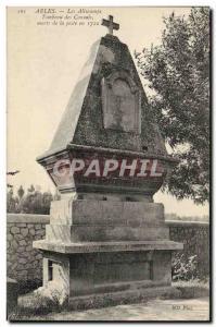 Old Postcard Arles Aliscamps Tomb dead Consuls Plague