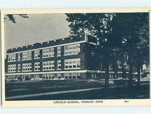 Chrome SCHOOL SCENE Findlay Ohio OH AG9969