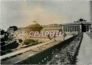 Postcard Modern Brussels Botanical Garden