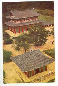 Taeungjon of Popchu-sa temple,Mount Skni, Chunchong, Korea, 1950s