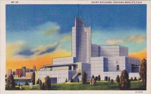 Dairy Building Chicago World's Fair 1934