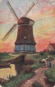 Art Postcard , Windmill , 00-10s #6