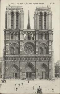 Paris Eglise Notre Dame