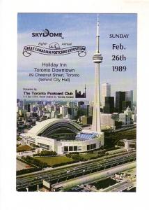 Great Canadian Postcard Exposition, Eighth Annual, 1989, Toronto Ontario No 0053