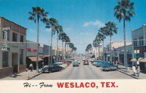WESLACO , Texas , 40-50s ; Texas Avenue