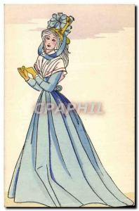 Old Postcard History of Costume French Revolution in 1793