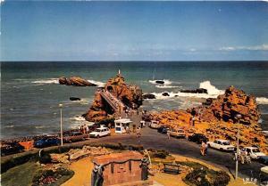 BR12678 Le Rocher de la Vierge et le monument aux morts Biarritz  france
