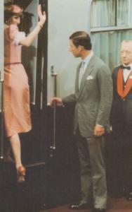 Prince Charles Lady Diana Waterloo Tube Station 1981 Rare Wedding Royal Postcard