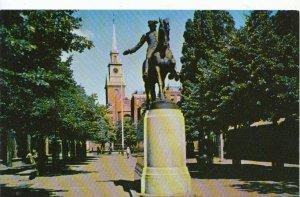 America Postcard - Statue of Paul Revere - Boston - Massachusetts - Ref  950A