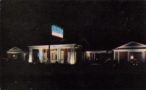 Birmingham Alabama~Neon Night View~Green Family Motor Lodge~US Rt 80~AAA 1950s