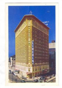 Hotel Lincoln, Indianapolis, Indiana, 40-60s