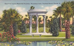 Florida Daytona Beach American Legion Memorial Fountain Waterfront Park