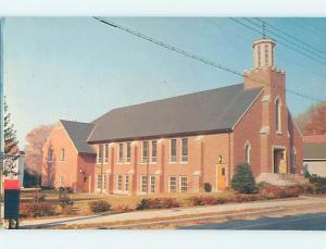 Unused Pre-1980 CHURCH SCENE Walden New York NY L3065