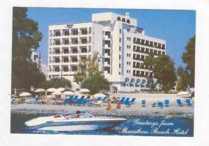 Cyprus, 1980s, Marathon Beach Hotel, LIMASSOL