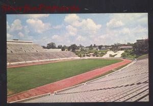 UNIVERSITY OF MISSOURI TIGERS FOOTBALL STADIUM COLUMBIA MO. OLD POSTCARD