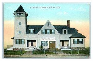 Postcard US Life Saving Station, Nahant, Mass Y65
