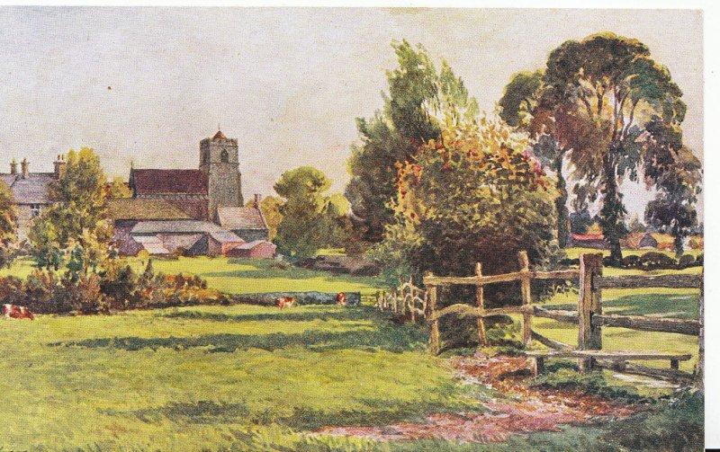 Northamptonshire Postcard - Sulgrave Church   U4419