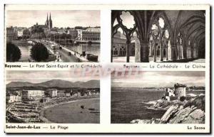 Old Postcard Guethary Bidart Ciboure Hendaye